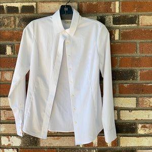 Twox2 Milano Women's White blouse Size 4🤍